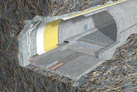 Дренажная система подземной гидроизоляции